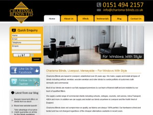 Blinds Company Website