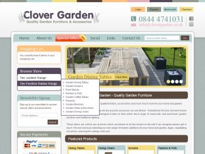 Garden Centre eCommerce Website