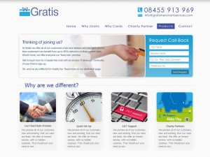 Merchant Services Web Design