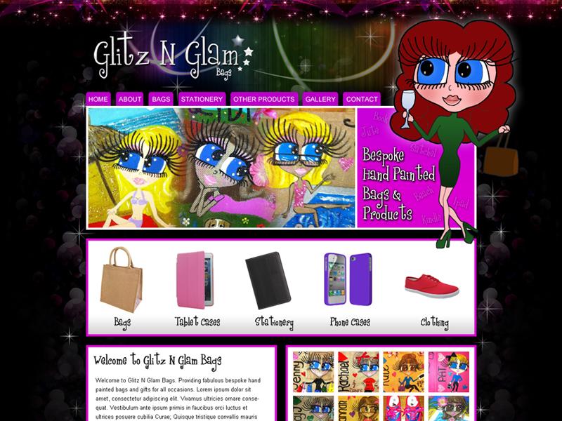 Handmade Gift Company Website