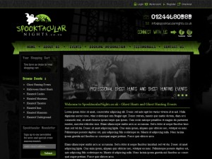 Events Company eCommerce Website