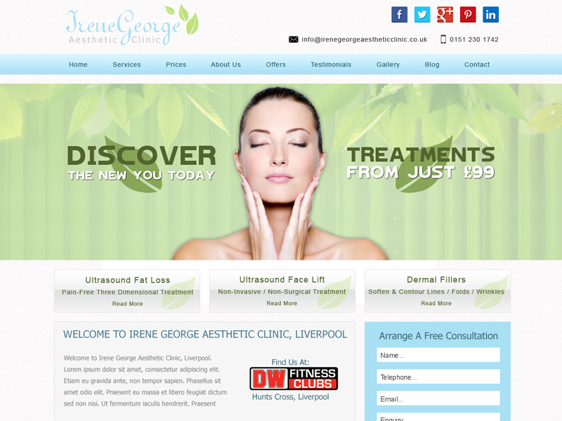 Cosmetic Surgery Web Design