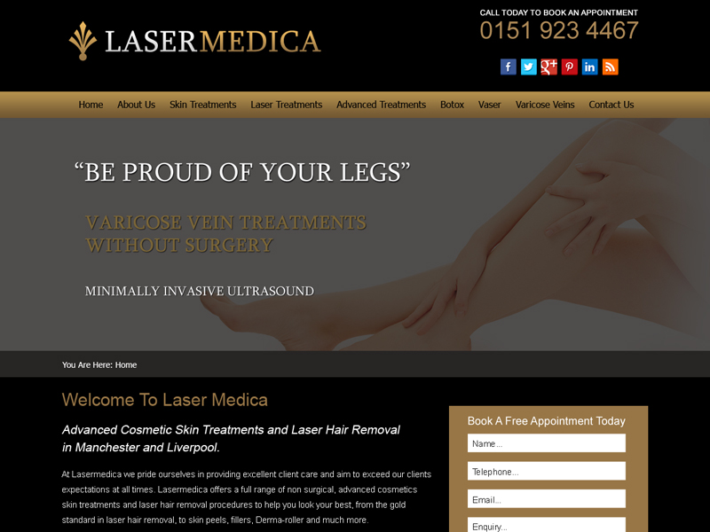 Cosmetic Surgery Business Website