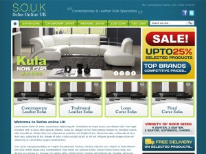 Sofa Shop Web Design