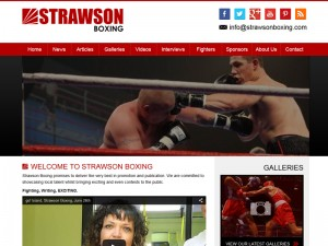 Boxing Promoter Web Design