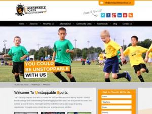 Sports Coaching Web Design