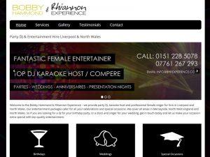 Mobile Entertainment Website
