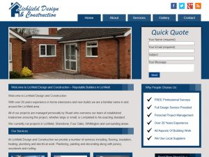 Builder Website Design