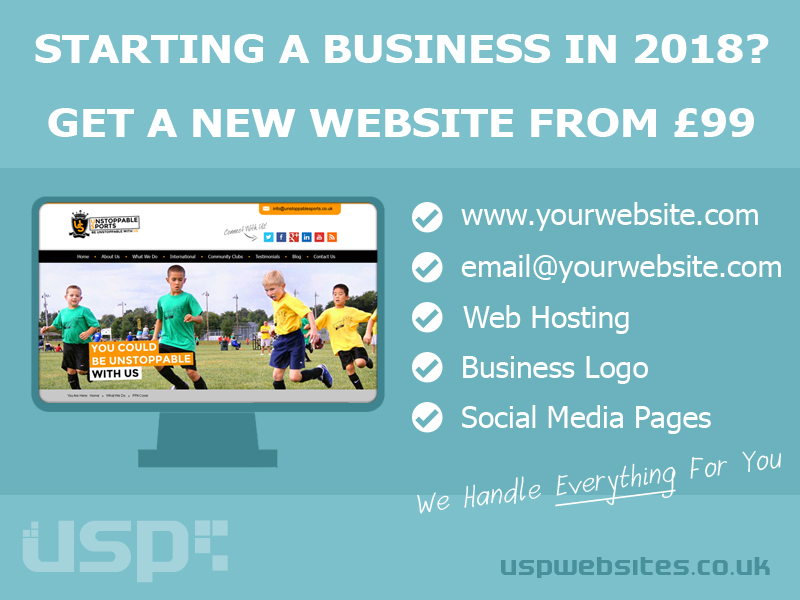 Startup Business Web Design 2018