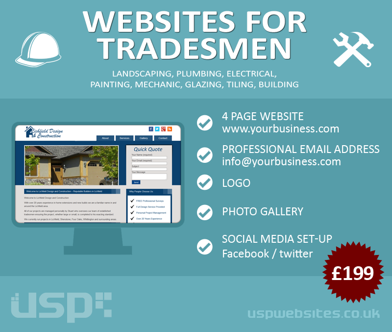 Websites For Tradesmen
