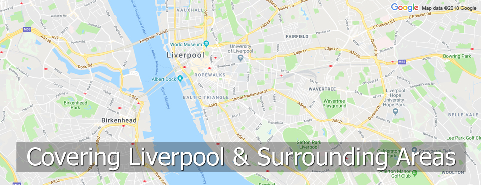 Liverpool & Surrounding Areas