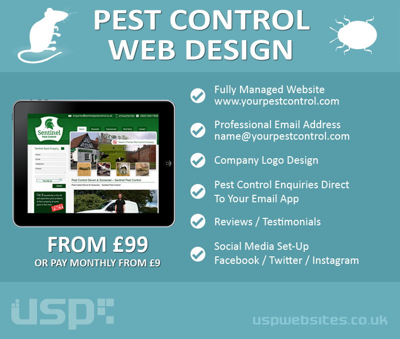 Web Design for Pest Control