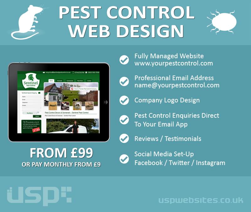 Web Design for Pest Control