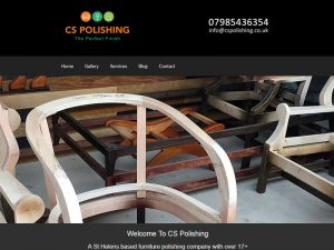 Furniture Polishing Web Design
