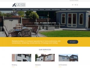 Builder / Landscaper Website