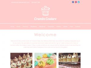 Cake Maker Website